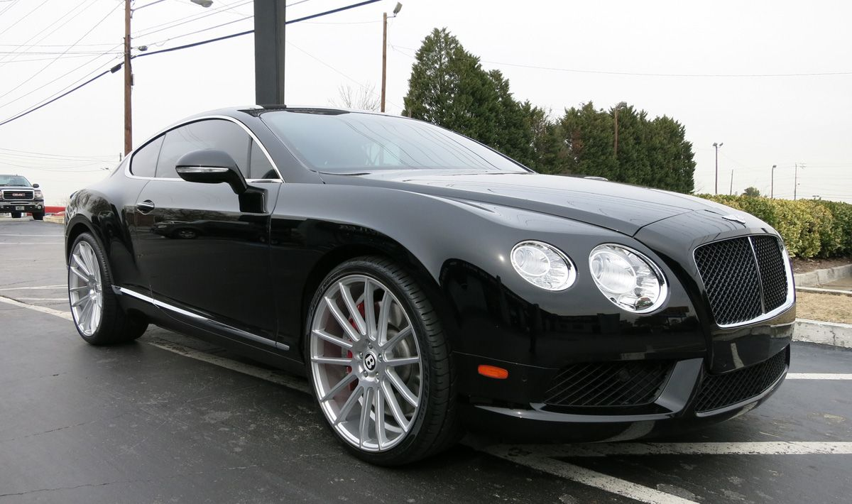 диски р22 для bentley continental kahn dark mist