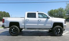 "Диски Grid Off-Road GD1 22"" - Chevrolet Silverado. Колёса: Toyo Open Country M/T 35/12.5 R22"