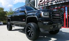"Диски Grid Off-Road GD1 22"" - GMC Sierra. Колёса: Toyo Open Country M/T 35/12.5 R22"