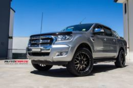 "Диски Grid Off-Road GD2 20"" - Ford Ranger. Колёса: Nitto Terra Grappler 285/50 R20"