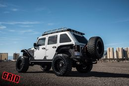 "Диски Grid Off-Road GD3 22"" - Jeep Wrangler. Колёса: Toyo Open Country M/T 37/13.5 R22"