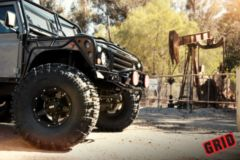 "Диски Grid Off-Road GD4 17"" - Land Rover Defender Interco Super Swamper Boggers. Колёса: 42.5/13.5 R17"