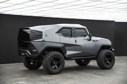 "Диски Grid Off-Road GD4 20"" - Rezvani Tank. Колёса: Toyo Open Country M/T 37/13.5 R20"