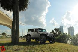 Диски Grid Off-Road GD4 - Jeep Wrangler. Колёса: Toyo Open Country R/T