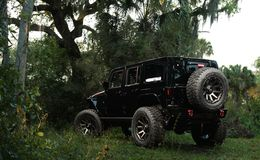 "Диски Grid Off-Road GD5 20"" - Jeep Wrangler. Колёса: Toyo Open Country R/T 37/13.5 R22"