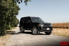 "Диски Grid Off-Road GD5 20"" - Land Rover Discovery 3 / LR3. Колёса: Nitto Terra Grappler"