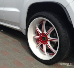 Диски Savini BS3 R22 - Jeep Grand Cherokee SRT8