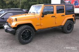 "Диски Tuff T-04 20"" - Jeep Wrangler. Колёса: Mickey Thompson Baja ATZ Radial"