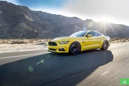 "Диски Verde Insignia 20"" - Ford Mustang. Колёса: Nitto Invo"
