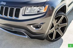 "Диски Verde Invictus 24"" - Jeep Grand Cherokee. Колёса: Delinte"