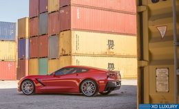 "Диски XO Verona 19"" - Chevrolet Corvette Stingray Z51. Колёса: Michelin Pilot Super Sport 245/35 R19"